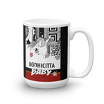 BODHICITTA BABY / BLACK Mug made in the USA