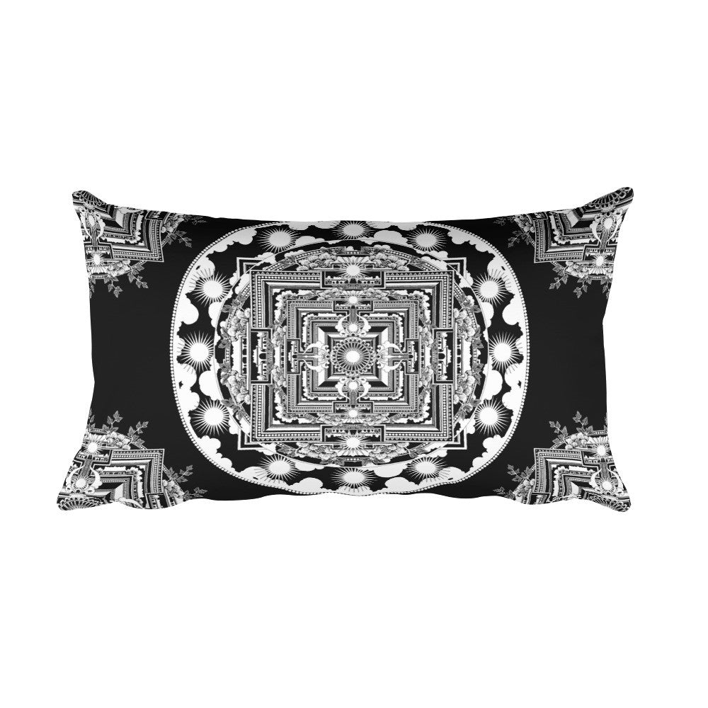 MANDHALA : Rectangular Pillow