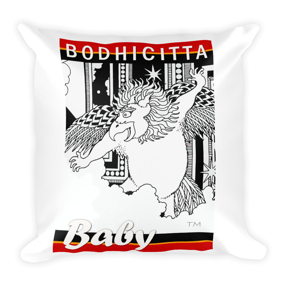 BODHICITTA BABY : Square Pillow