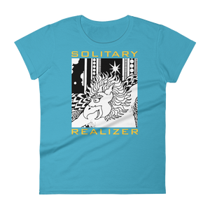 SOLITARY REALIZER : Women's short sleeve t-shirt