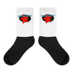SYNCHRONISTIC MYSTIC : Black foot socks