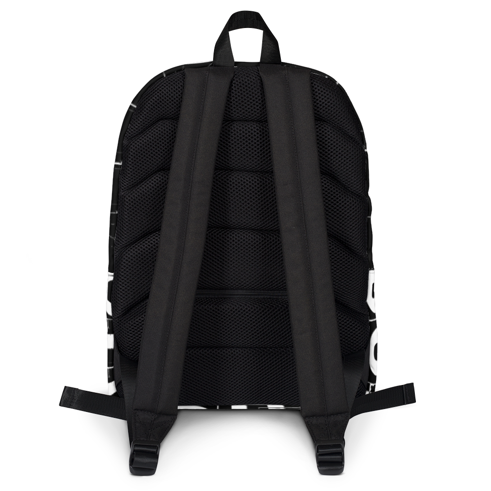 BODHICITTA CLUB BLACK WHITE : Backpack