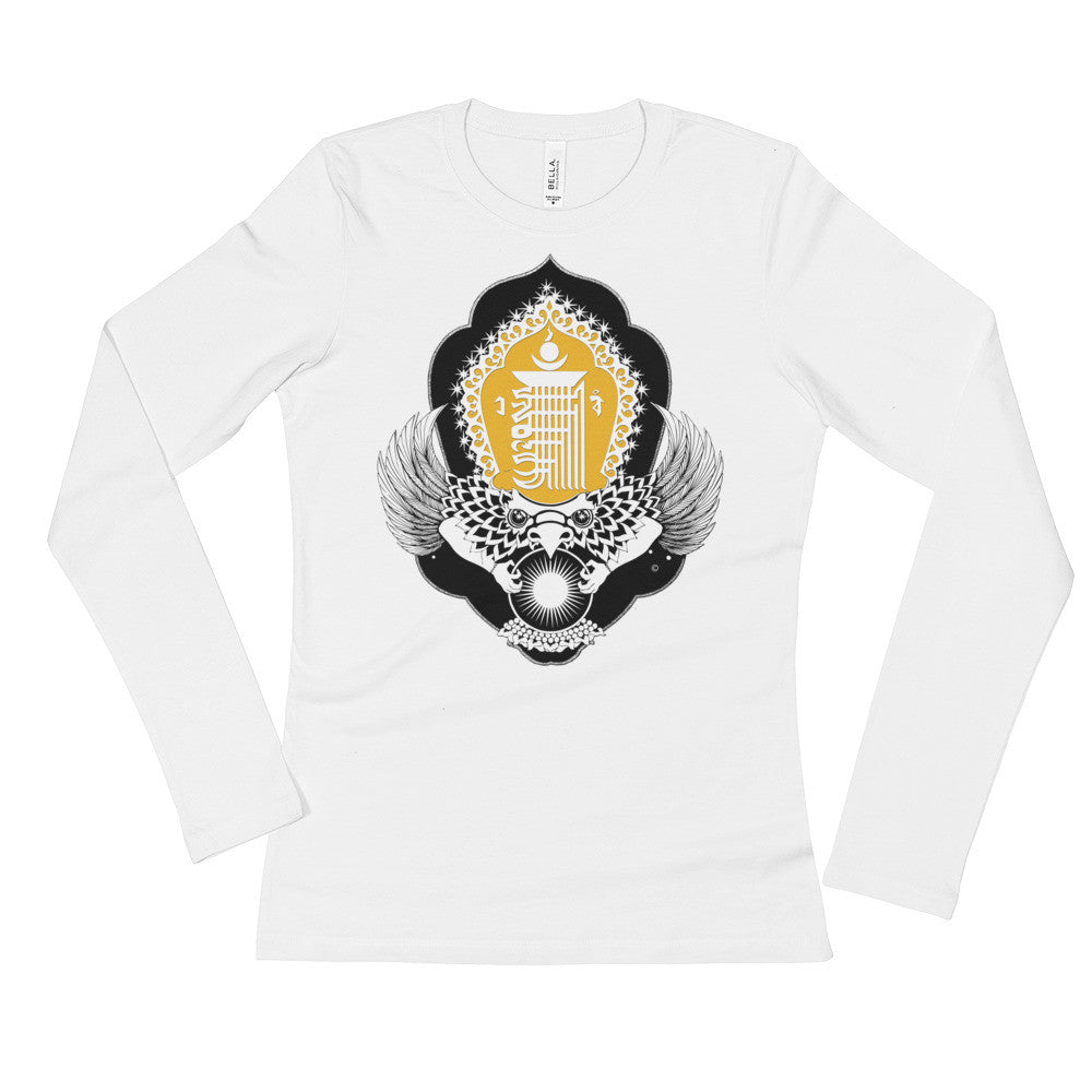 KALACHAKRA : Ladies' Long Sleeve T-Shirt