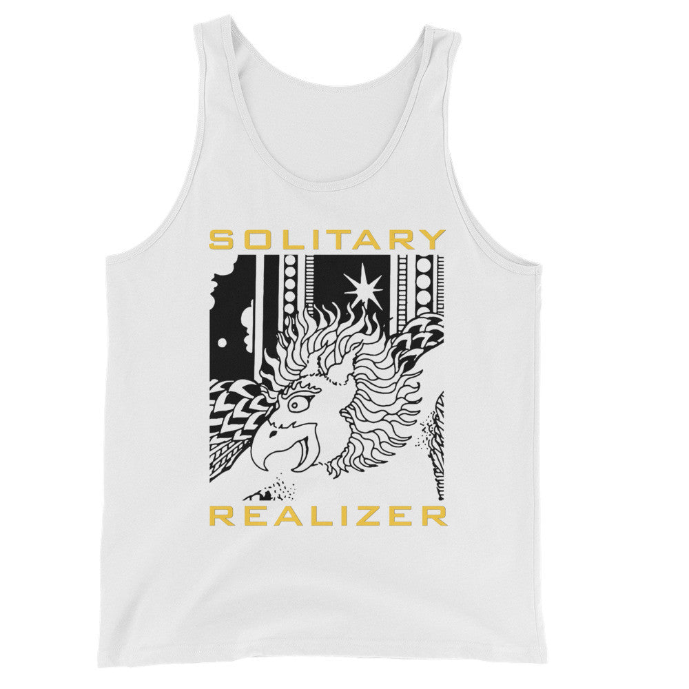 SOLITARY REALIZER : Unisex  Tank Top