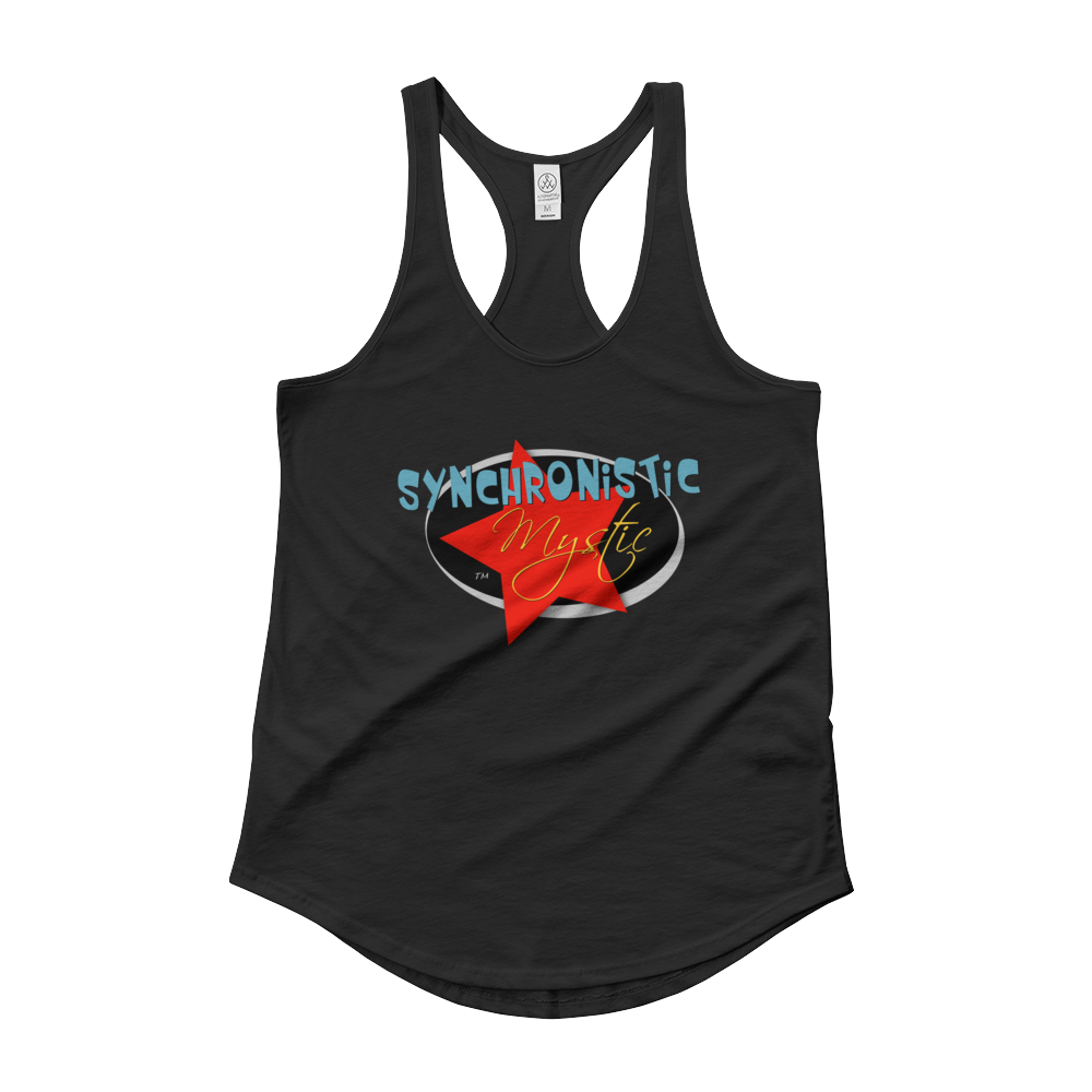 SYNCHRONISTIC MYSTIC : Ladies' Shirttail Tank