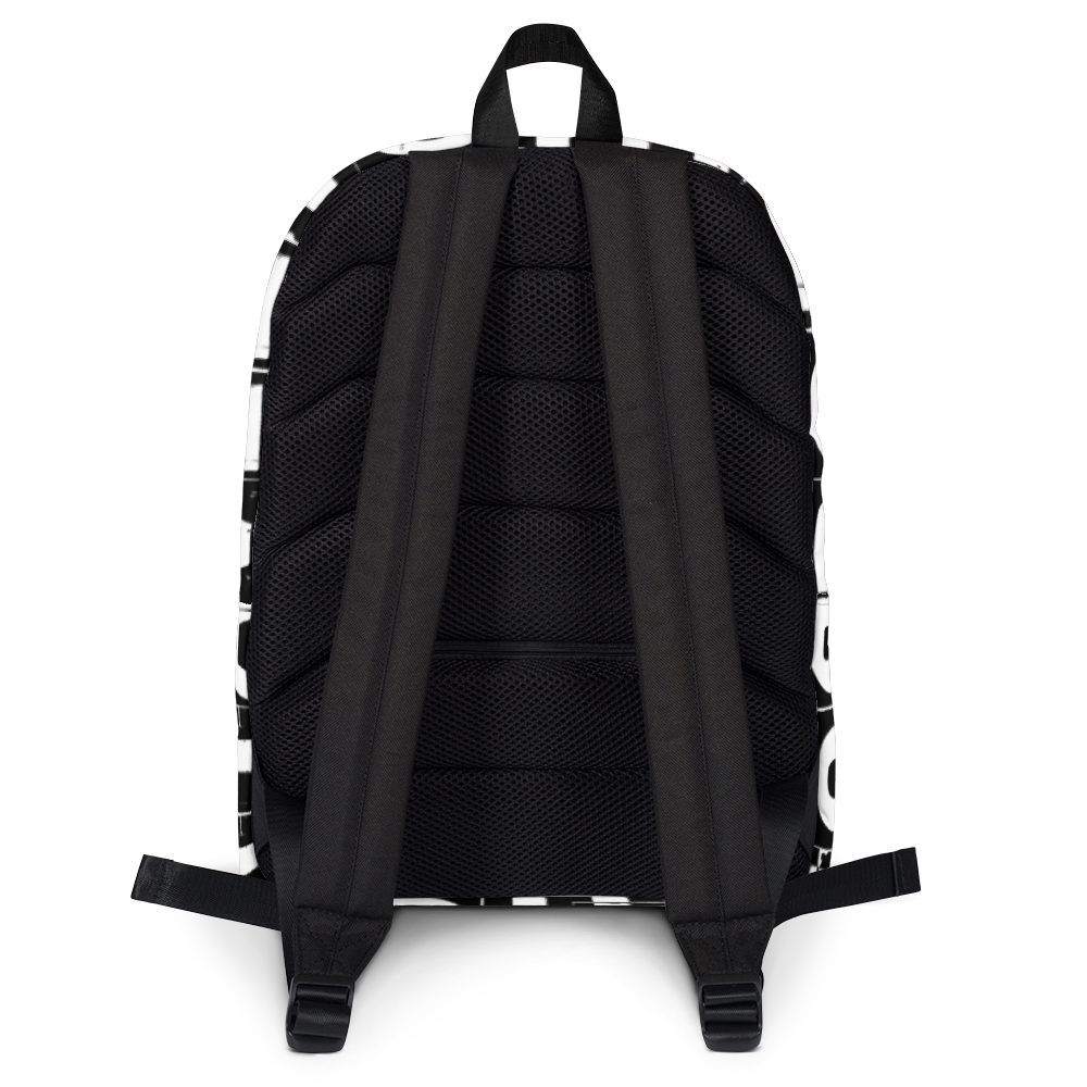 BODHICITTA CLUB BLACK RED : Backpack
