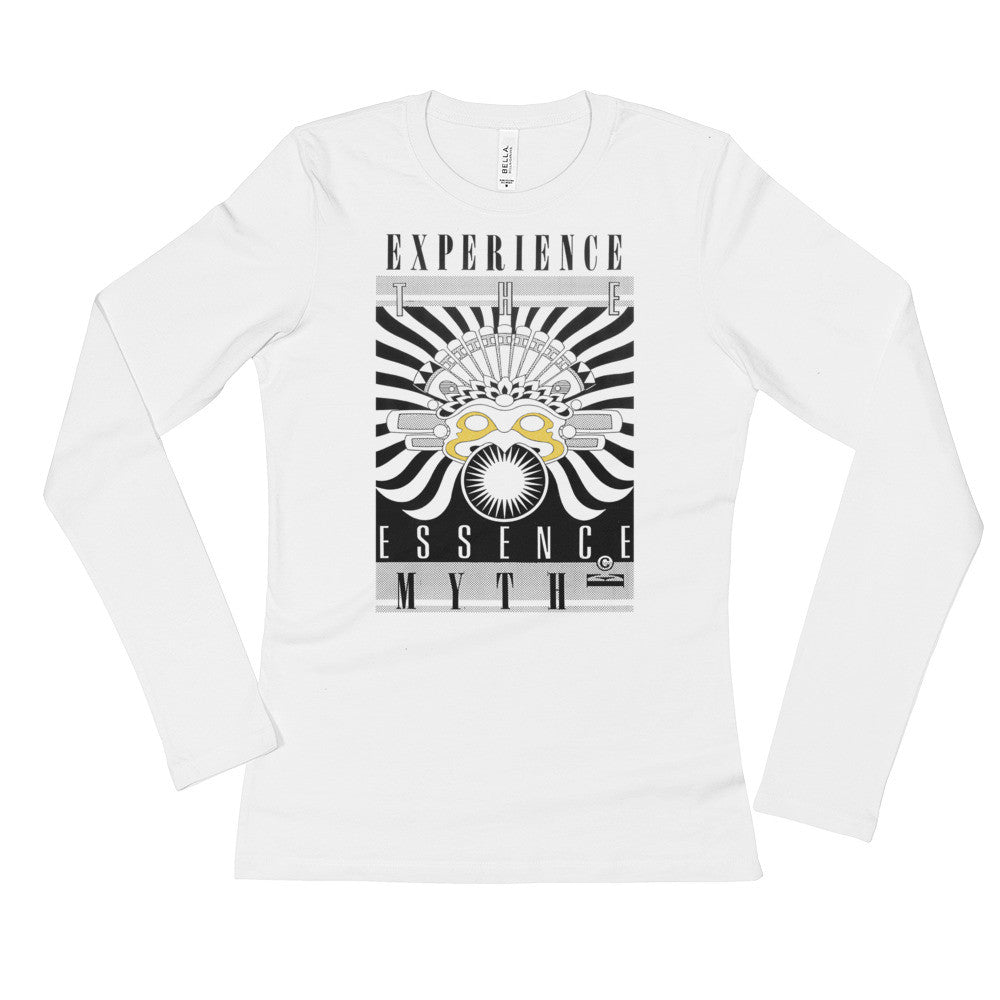 EXPERIENCE THE ESSENCE : Ladies' Long Sleeve T-Shirt