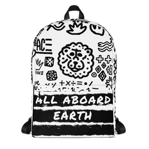 ALL ABOARD EARTH : Backpack