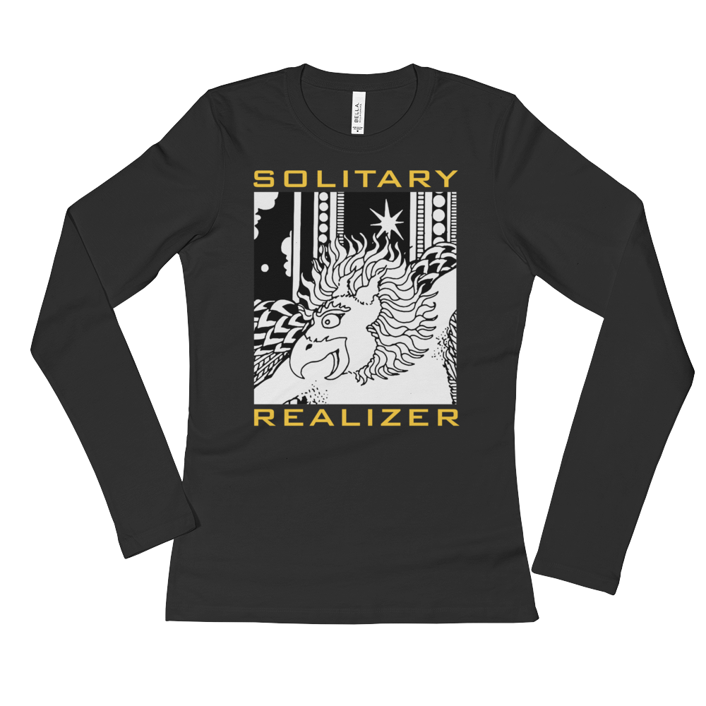 SOLITARY REALIZER : Ladies' Long Sleeve T-Shirt