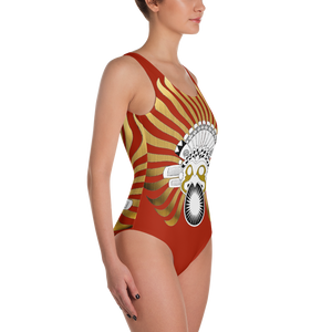 SUNBIRD RED : One-Piece Swimsuit