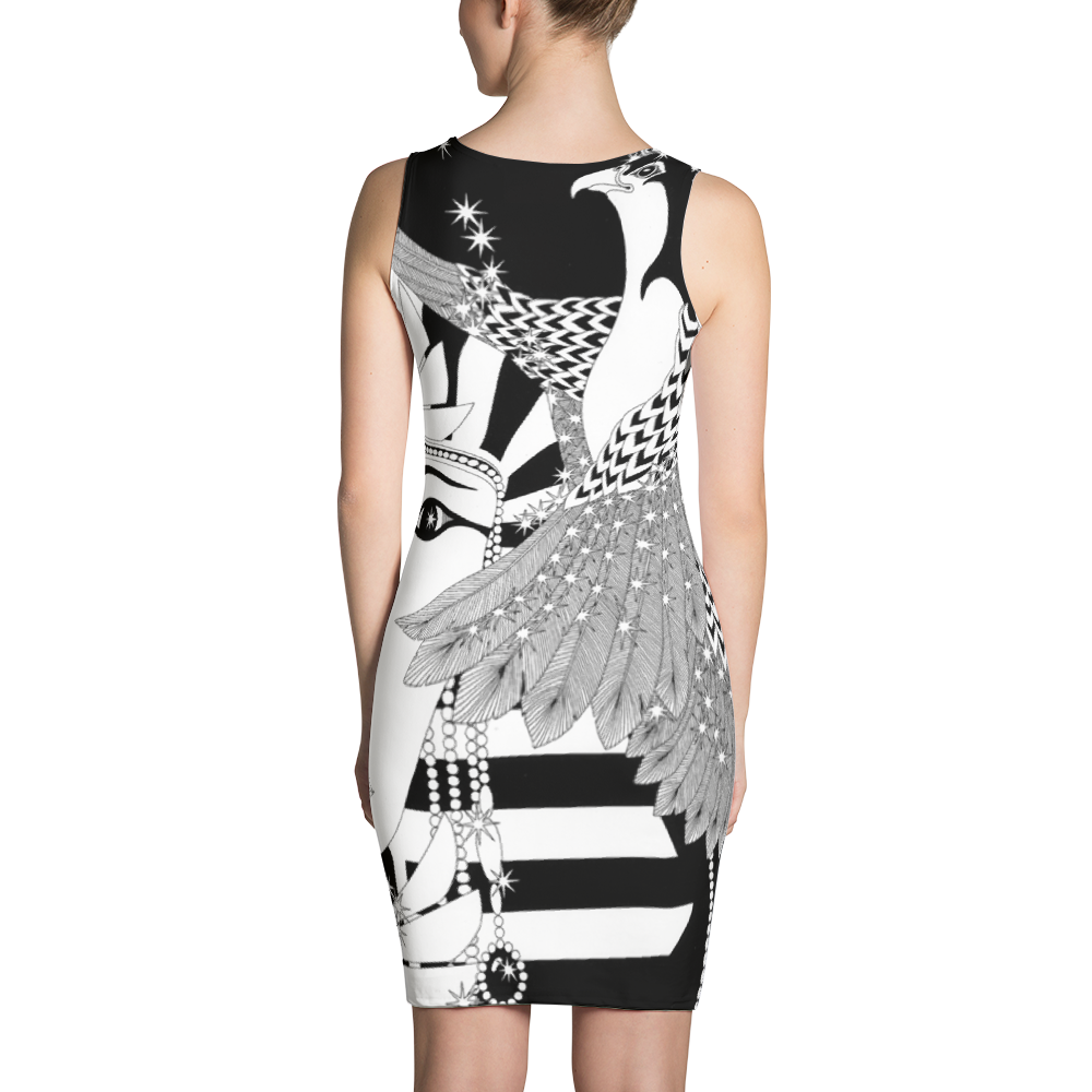 EGYPTIAN WOMAN : Sublimation Cut & Sew Dress