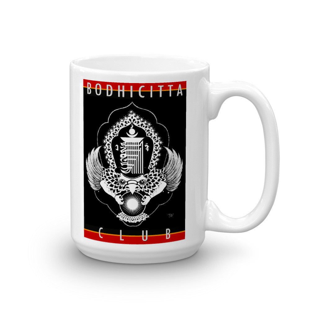 BODHICITTA CLUB : 15oz Mug made in the USA