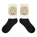 SUNBIRD : Black foot socks