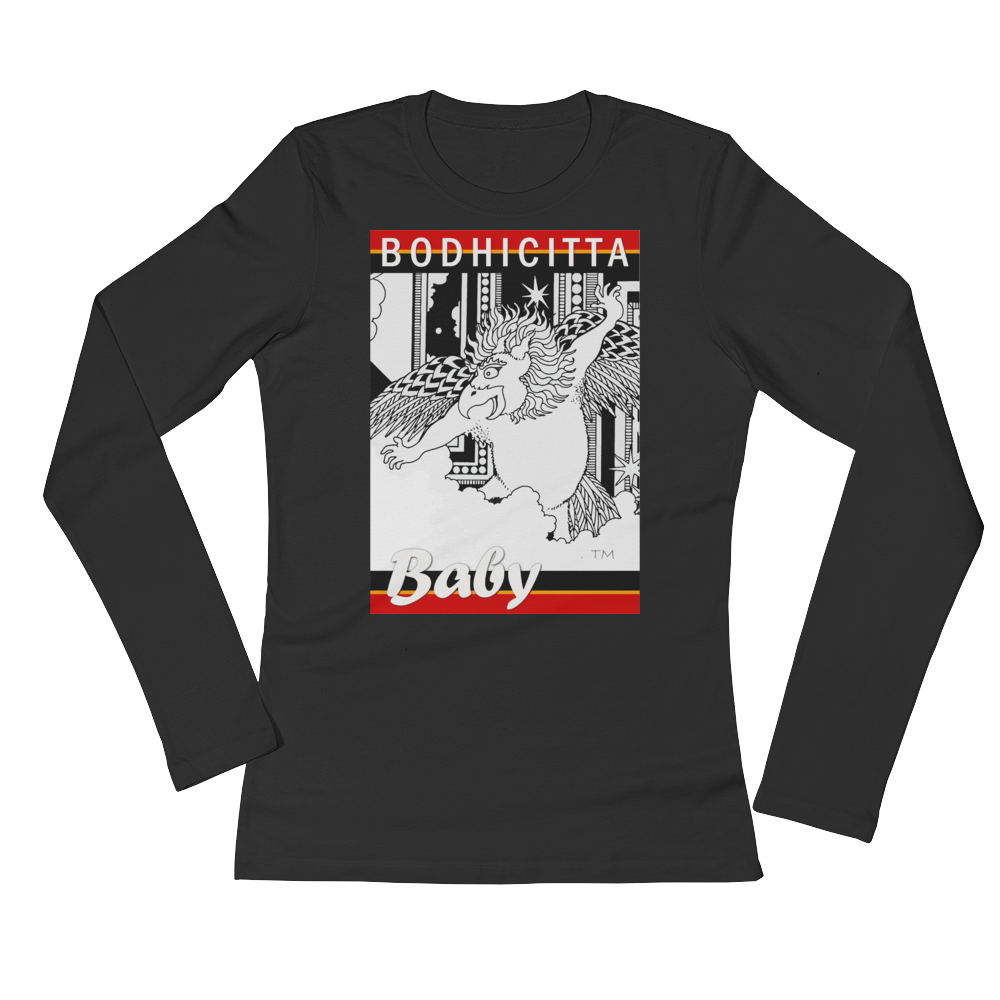 BODHICITTA BABY : Ladies' Long Sleeve T-Shirt