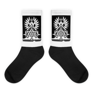 ANUBIS : Black foot socks