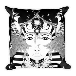 EGYPTAIN WOMAN : Square Pillow