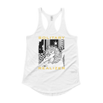 SOLITARY REALIZER : Ladies' Shirttail Tank