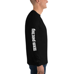 White & Black Team Philthy long sleeve P logo