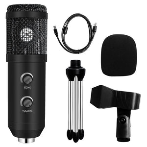 Usb Computer Microphone With Ring Light Studio Kit for Gaming and YouTube video recording