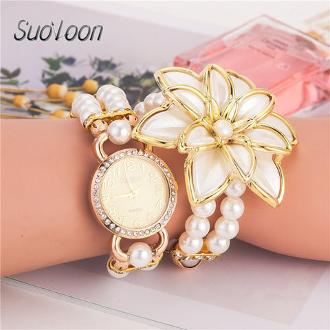 latest style hot selling ladies' Bracelet Watch Rose Gold - Sale30