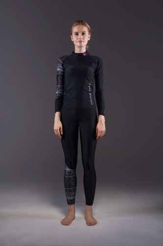 ILLUSION LS Women's Rashguard Black