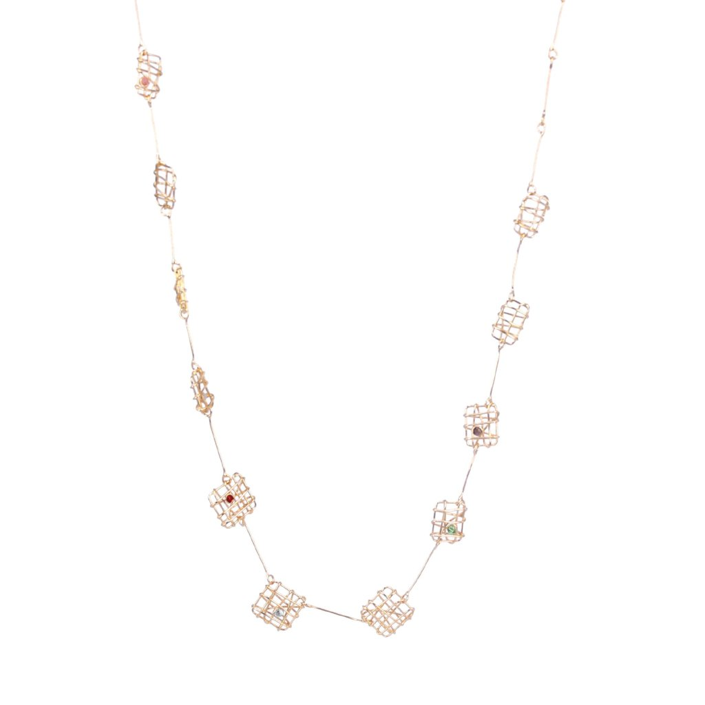 SQUARE CORDA NECKLACE