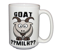 Goat Milk - Funny Farm Animal Coffee Mug - Larger 15oz Size