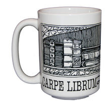 Carpe Librum - Seize the Book - Librarian Gift - Larger 15oz Size