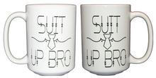 Suit Up Bro Coffee Mug - Will You Be My Groomsman Gift - Larger 15oz Size