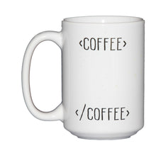 Begin Tea End Tea Mug HTML for Web Developers