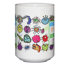 Biology - It Really GROWS On You - Funny 15oz Science Coffee Mug