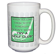 Killing Golf Club - Funny Sports Coffee Mug - Larger 15oz Size