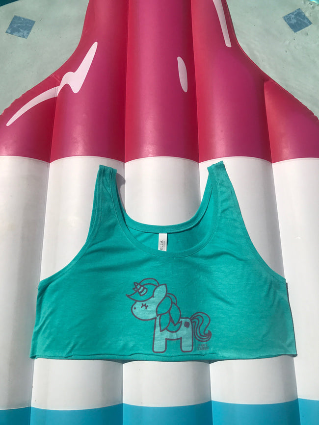 Kawt N Kandy Unicorn Crop Tank