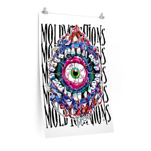 MoldyCreations Poster White Backround