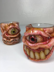 Moldy Shot Glasses / Candle Holders