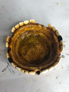 Moldy Round Ashtray