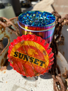 Sunset Sarsaparilla Grinder
