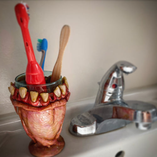 Moldy Toothbrush/Pencil holder