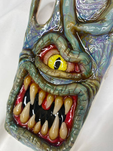 Blue Monster Phone Case