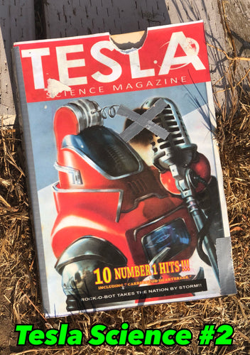 Fallout 4: Tesla Science Magazine