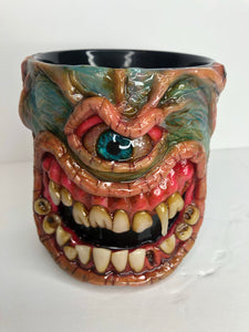 Blue Monster Mug
