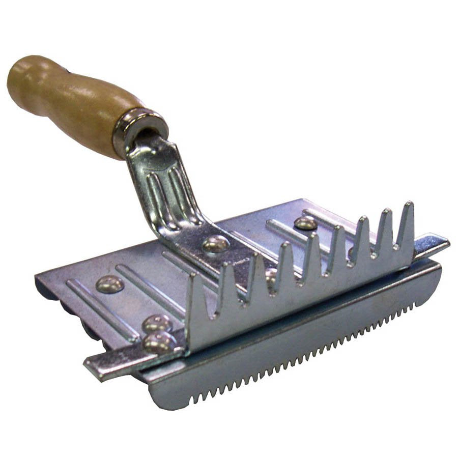 Six Bar Steel Curry Comb