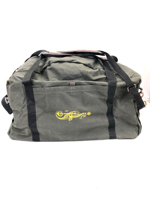Canvas Saddle Carrying Bag