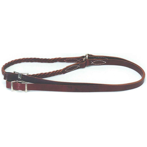8' Braided Center Roper/Contest Rein