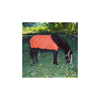 Safety Orange Nylon Mesh Blanket