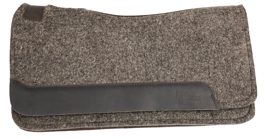 100% Pressed Wool Pad, 1-1/8 inch