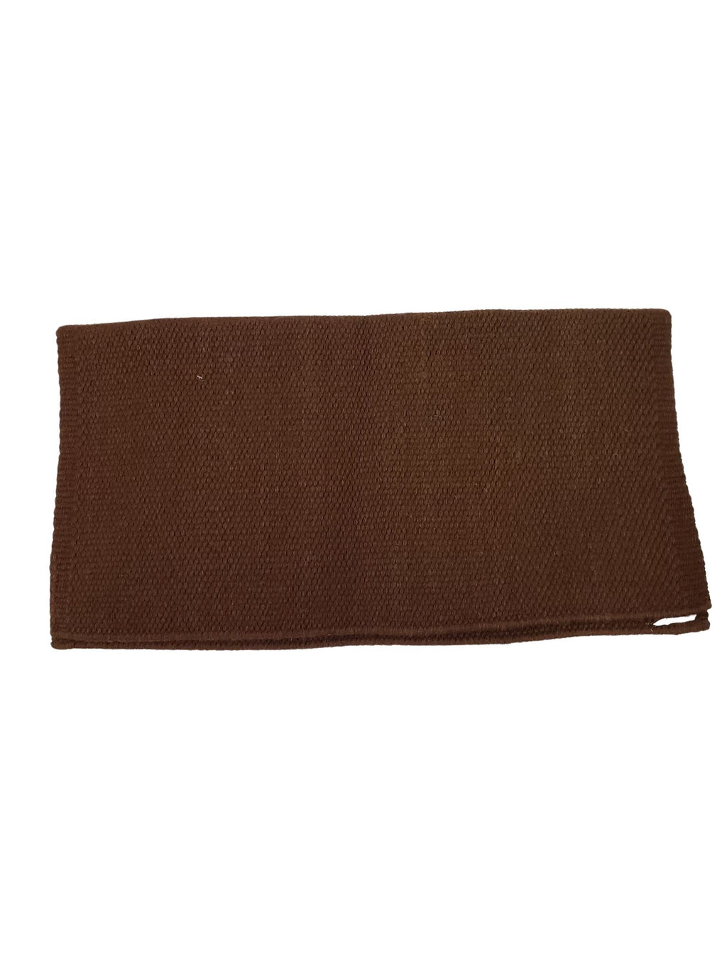 Chocolate Saddle Blanket