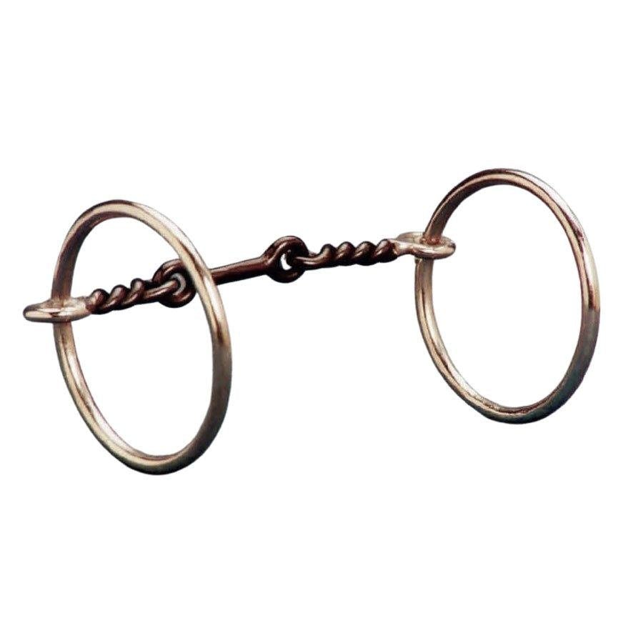 New & Improved 3-Piece Ring Snaffle