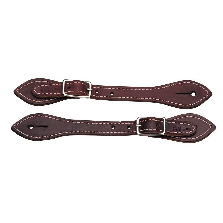 Saddle Stitched Spur Straps