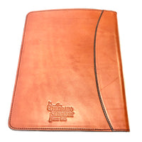 Colorado Saddlery Handmade Leather Notebook Cover- Large